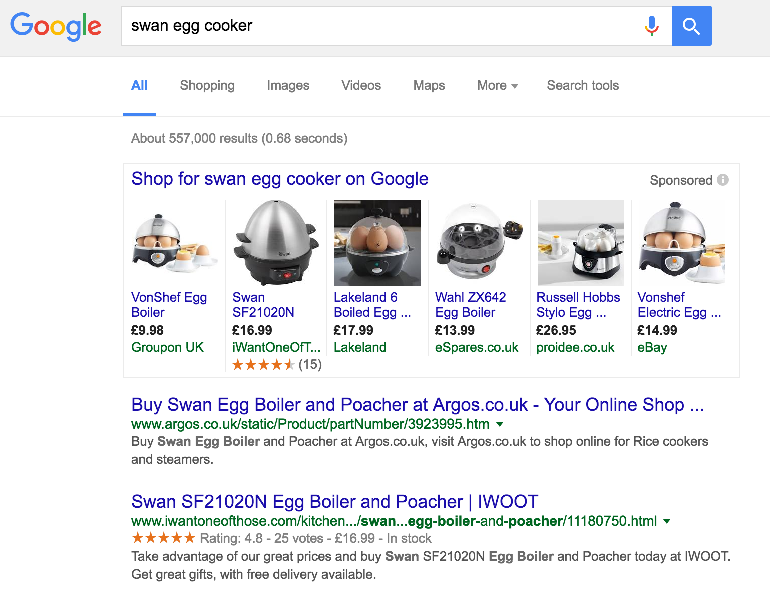 Swan Egg Cooker Search Result